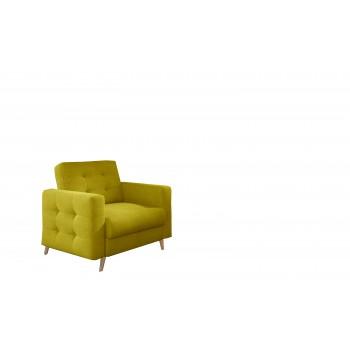 Fauteuil ASLAN 11 jaune