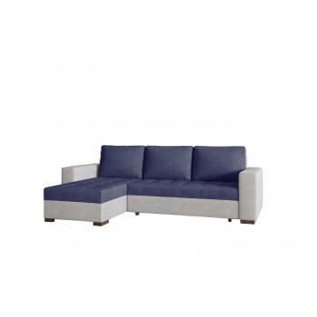 Canapé d'angle réversible -...