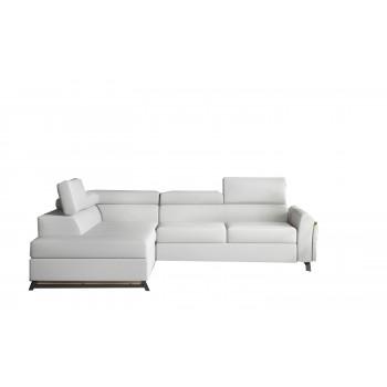 Canapé d'angle - CYRUS - Blanc
