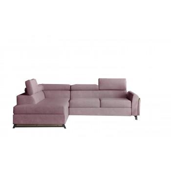 Canapé d'angle - CYRUS - Rose