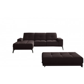 Canapé d'angle en lit...